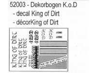 Picture of Carson - Decal KING OF DIRT 1:8 Off-Road 52003