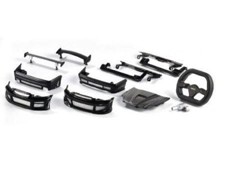 Immagine di Carson - X Mods Body Honda Civic Nera 59710
