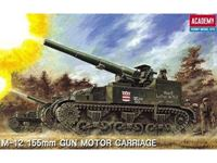Immagine di ACADEMY M-12 GUN MOTOR CARRIAGE 1:35 1394