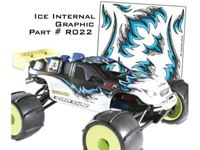 Picture of Aviotiger - Decals adesive Interne Ice Graphic AV27XR022