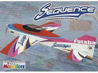 Immagine di ElectriFly by Great Planes - SEQUENCE F3A 50 3D EP ARF GPMA1575