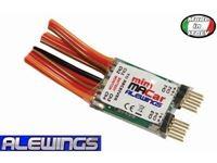 Immagine di Alewings - miniMACar 4Ch LiPo 7,4v con monitor batt E0056A