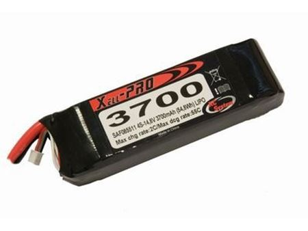 Picture of RCS - Lipo Xell-Pro 14.8V 3700mAh 4celle 55C SAF085511