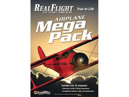 Immagine di Great planes - RealFlight 6 Mega Pack Aerei GPMZ4160
