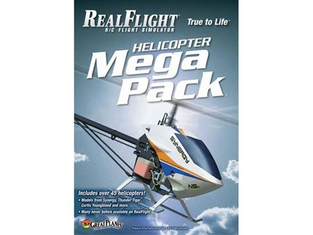 Immagine di Great planes - RealFlight G6 Mega Pack Heli GPMZ4162
