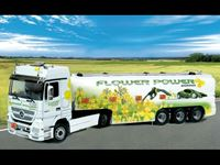 Picture of Italeri - 1/24 M.B ACTROS w/TANK FLOWER POWER 3856S