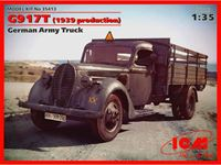 Immagine di ICM - 1:35 G917T (1939 production), German Army Truck 35413