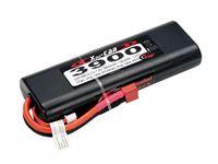 Picture of RCS - LiPo Xell-Car ROUND 7.4V 3900MAH 20C SAF09013