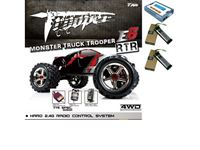 Picture of E6 trooper ep monster truck rtr (motore brushed 775)