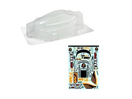 Immagine di B8rs carrozzeria trasparente con adesivi