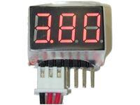 Picture of Ev lipo digital voltage reader indicatore voltaggio lipo 1-6s