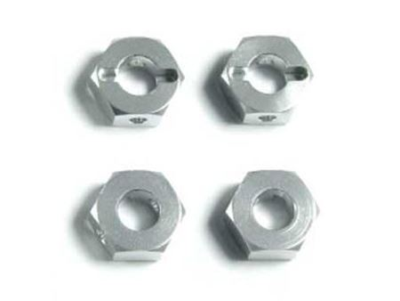 Picture of Km nt1 trascinatori ruote in alluminio (gun metal)