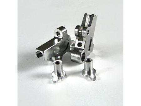 Picture of Km nt1 supporti barra stabilizzatrice anteriore in alluminio (silver)