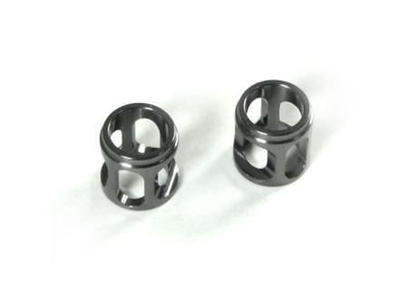 Picture of Km nt1 distanziale asse cambio in alluminio alleggerito (gun metal)