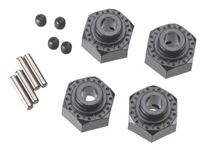 Immagine di ALUM HEX HUB 12MM BLK
