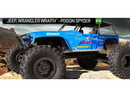 Picture of Axial Poison Spyder WRAITH JEEP WRANGLER RTR AX90031