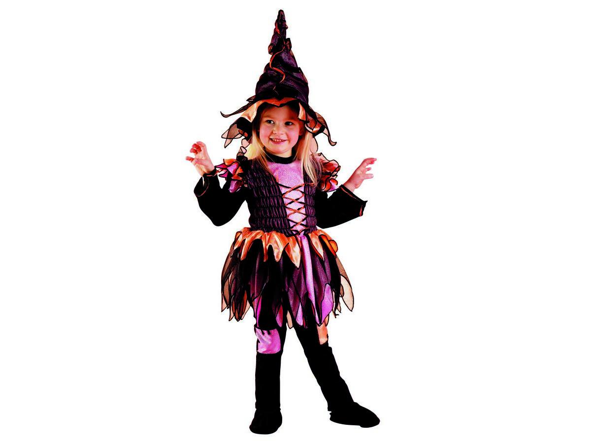 scegli il meglio design di qualità 100% genuino Costume di carnevale Streghina - Vestito di carnevale da strega - Bambini  fino ai 3 anni