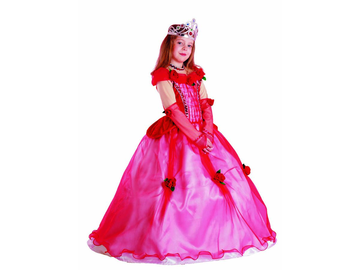 newest collection 377c8 5d76d Costume di carnevale Principessa delle Rose