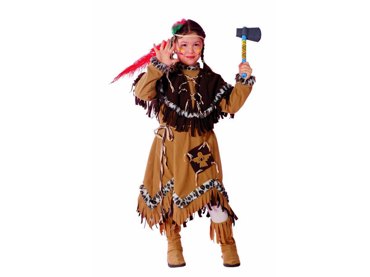 indiana carnevale bambina  Piccola aquila. Vestito di carnevale indiana : Linea Bambina
