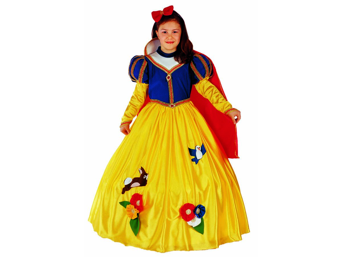 comprare ordinare on-line andare online Vestito di carnevale Biancaneve