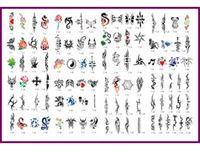 Immagine di STENCILBOOK 07-100 disegni formato A4 riutirizzabile