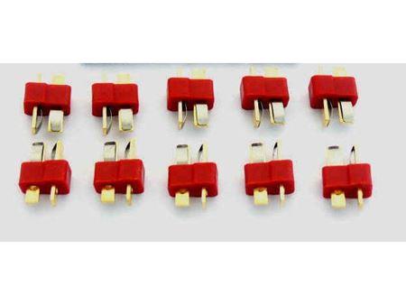 Immagine di Connettore superplug Maschio Tplug t-plug 10 pezzi