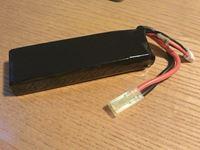 Immagine di Batteria AIRSOFT 2200 mah 2S 20C 7.4 Volt Mini Tamya