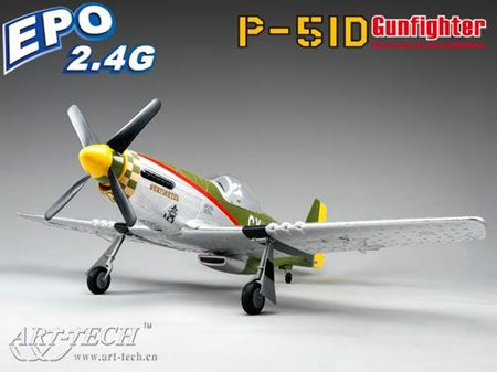 Picture of P 51 mustang Mode 2 EPO EPP