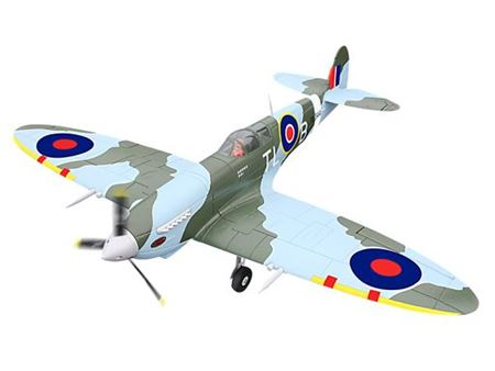 Picture of Spitfire in Epp verniciato con carrelli retrattili PNP