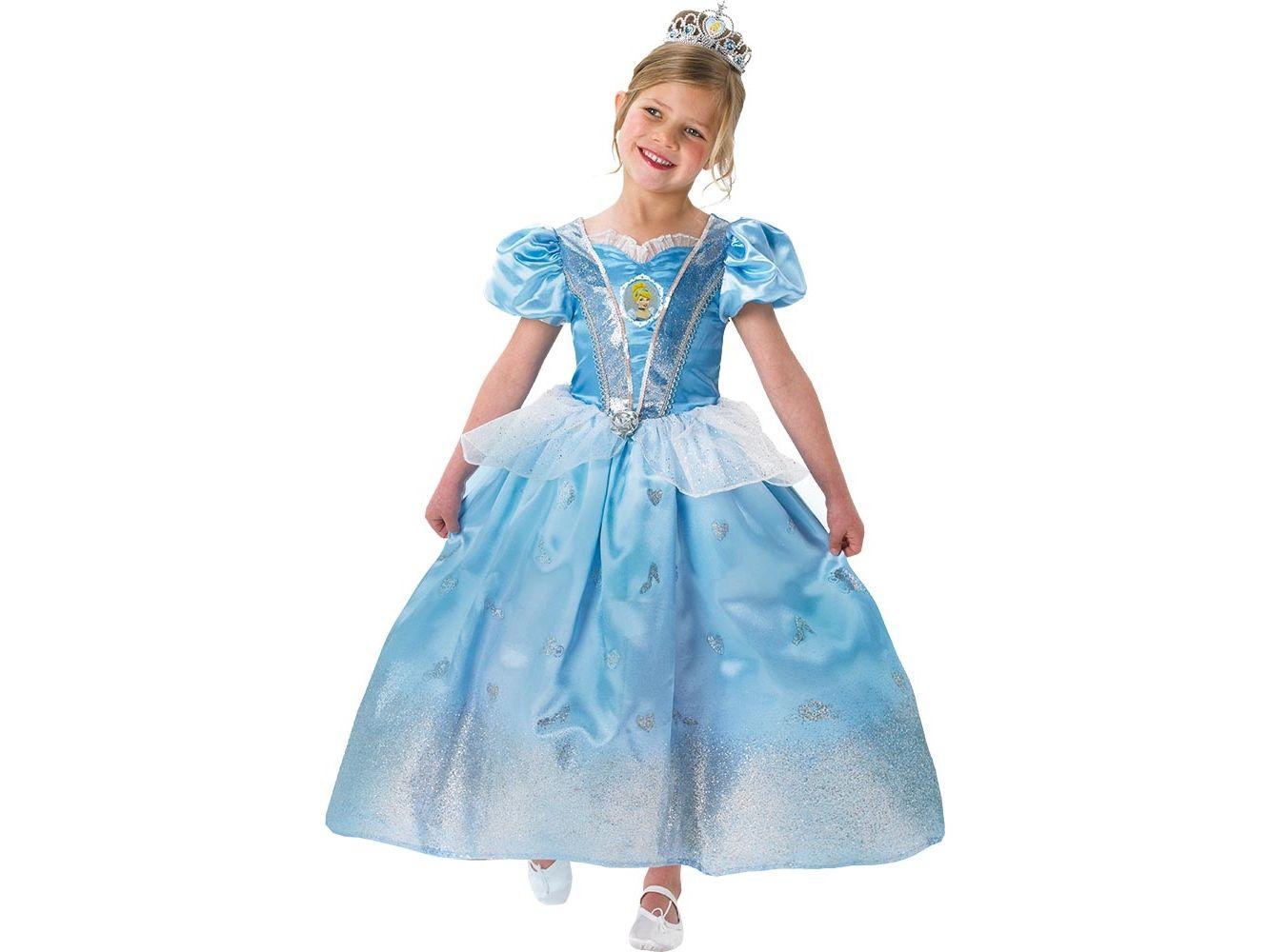 Bambina Cenerentola Costume Disney Linea 880030 Di Carnevale YxwTqgS