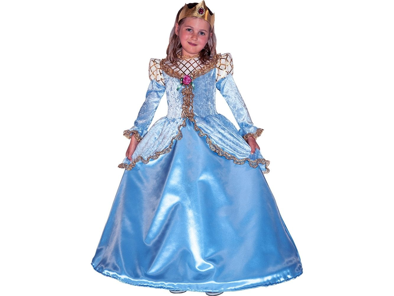 Costume di carnevale Principessa al ballo La piccola cenerentola