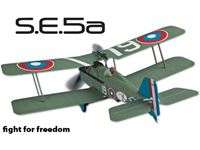 Picture of Flyzone - Micro SE 5A WWI Tx-R FLZA2052