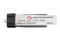 Immagine di ElectriFly by Great Planes - 3,7V 140MAh 20C ElectriFly GPMP0760
