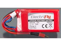 Immagine di ElectriFly by Great Planes - LiPo 11,1V 600mAh 25C ElectriFly GPMP0821