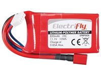 Immagine di ElectriFly by Great Planes - LiPo 11,1V 850mAh 25C ElectriFly GPMP0826