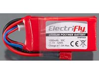 Immagine di ElectriFly by Great Planes - LiPo 11,1V 1000mAh 30C ElectriFly GPMP0830