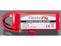 Immagine di ElectriFly by Great Planes - LiPo 7,4V 1200mAh 30C ElectriFly GPMP0835