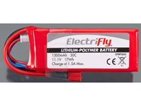 Immagine di ElectriFly by Great Planes - LiPo 11,1V 1500mAh 30C ElectriFly GPMP0845