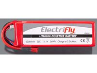 Immagine di ElectriFly by Great Planes - LiPo 11,1V 3200mAh 25C ElectriFly GPMP0871