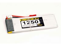 Picture of RCS - BATTERIA 3,7V  1250mAh  JST 30C RC3475L