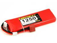 Immagine di RCS - Lipo Xell-Sport 7.4V 1250MAH 2S 30C SAF08107L