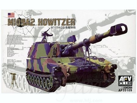 Immagine di 1/35 M109A2 Howitzer by AFV Club AF35109