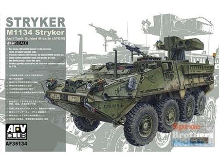 Immagine di AFV35134 1:35 AFV Club Stryker M1134 ATGM #35134 AF35134