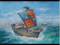 "Immagine di Zvezda - 1/72 English Medieval Ship ""Thomas"" 9038ZS"