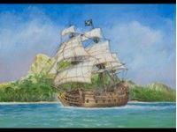 """Immagine di Zvezda - 1/72 Pirate Ship """"Black Swan"""" 9031ZS"""