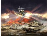 """Immagine di Zvezda - """"HOT WAR"""" - Battle for Oil - Regolamento gioco in lingua Inglese 7410ZS"""