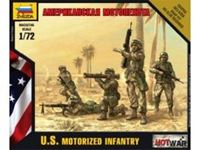 Picture of Zvezda - 1/72 U.S. Modern Infantry include 5 figure ? 4 pose NUOVO STAMPO 7407ZS