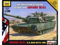 Picture of Zvezda - 1/100 M1A1 Abrams??? U.S. Main Battle Tank NUOVO STAMPO 7405ZS