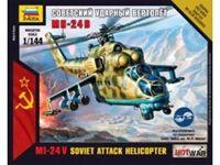 Immagine di Zvezda - 1/144 MIL-24 UP Russian Attack Helicopter - NUOVO STAMPO 7403ZS
