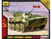 Immagine di Zvezda - 1/100 BTR-80 Russian Armored Personel Carrier NUOVO STAMPO? 7401ZS
